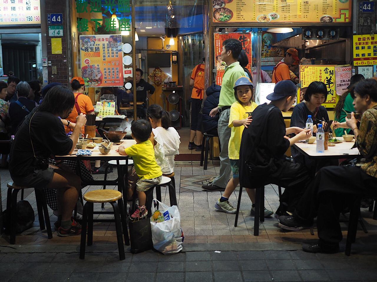 2017 台湾の旅  ぶらぶらと食べ歩く
